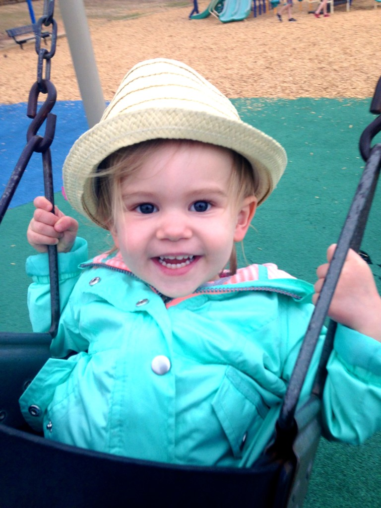 Austyn Elizabeth Loves to Swing